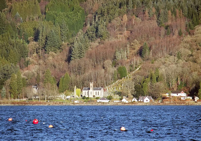 Old Castle Lachlan to Kilmun