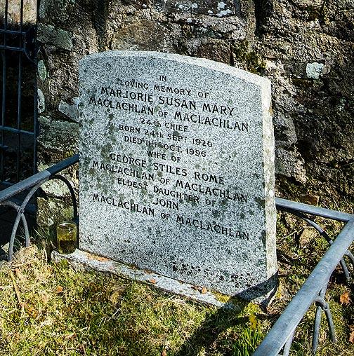 MacLachlan grave stone