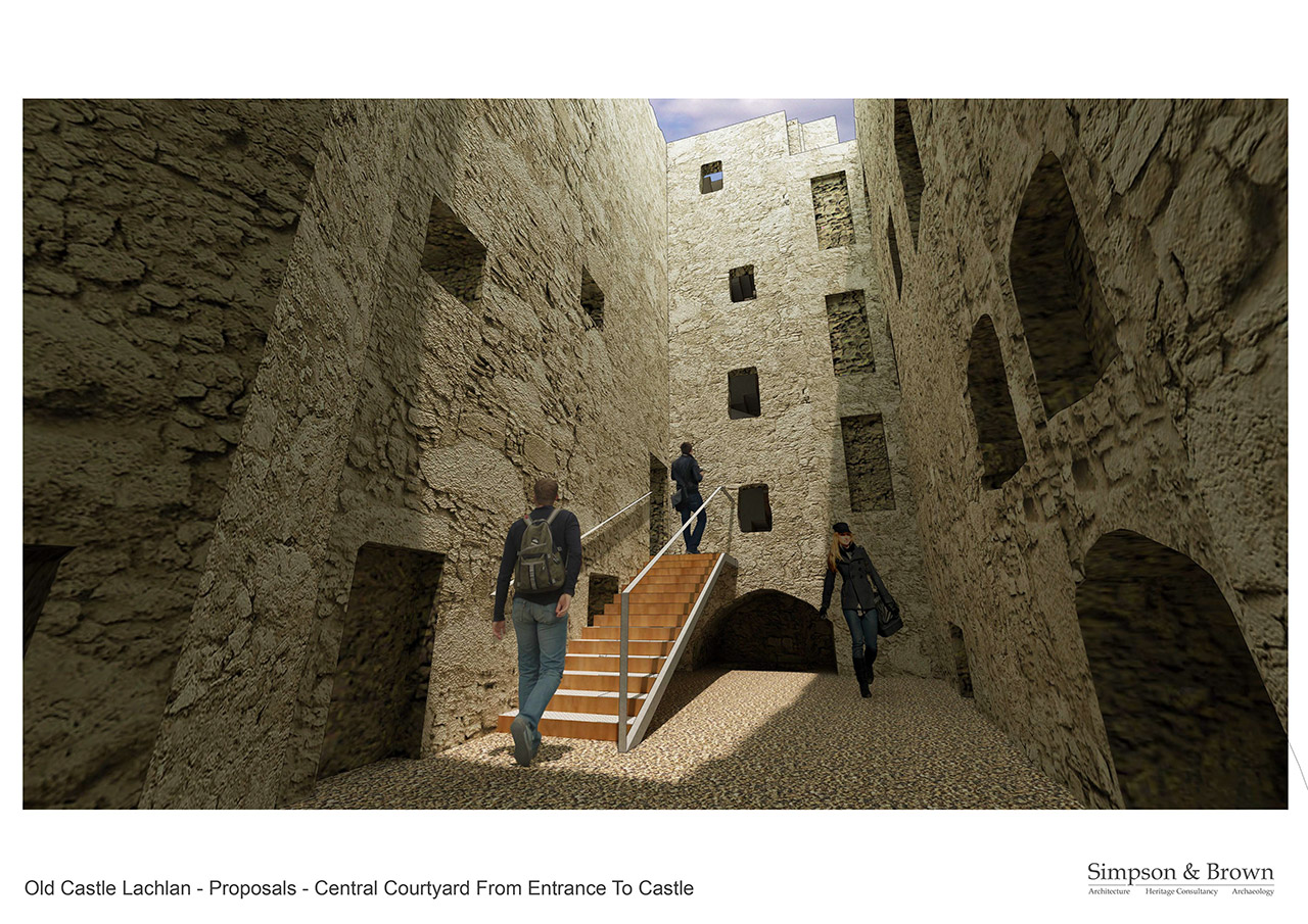 Old Castle Lachlan Proposals East Hall
