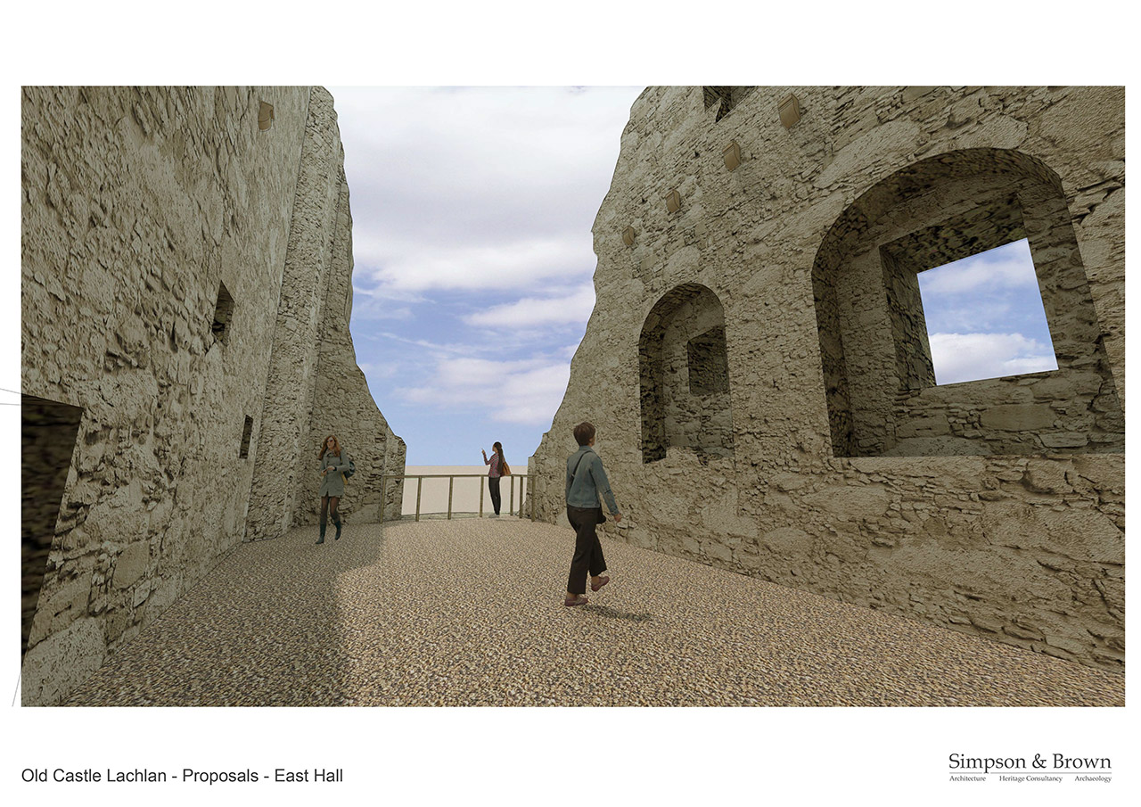 Old Castle Lachlan Proposals West Hall